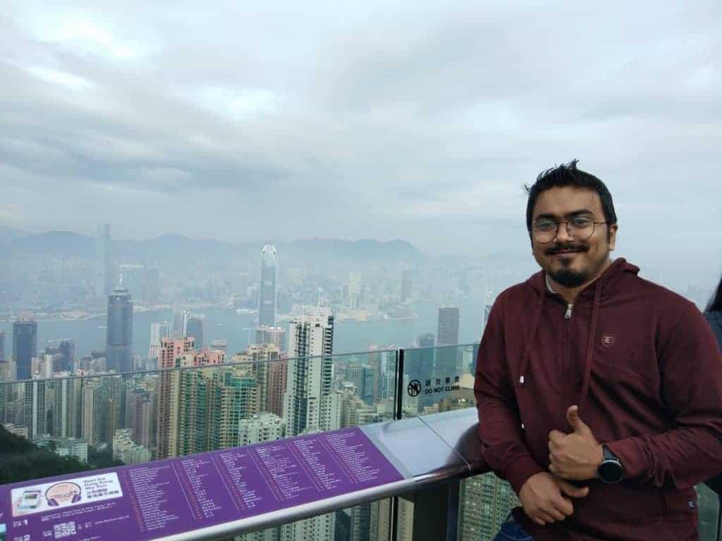 Nahid Hasan at Hongkong